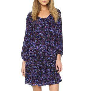 🌼 Rebecca Taylor silk dress in deep purple